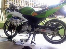 Modifikasi Warna Motor Vixion by Modifikasi Yamaha Vixion Warna Hijau Fairing