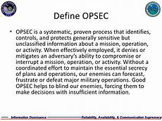 Opsec Level 1 The Question Word That Describes A Time | eidws 111 opsec
