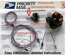f 250 powerstroke glow plugs wiring diagram ford diesel glow relay manual controller solenoid ebay