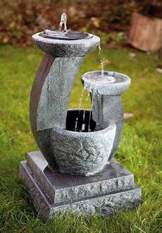 solarbrunnen solar gartenbrunnen caskaden brunnen style m