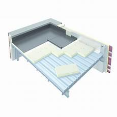 panneau l 233 ger isolant pour toiture terrasse sur bac acier