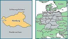 hamburg state germany map of hamburg de where is