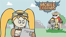 Kartun Lucu Mobile Legends Newbie Player