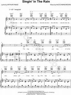 gene quot singin in the rain quot sheet music in f major transposable download print sku
