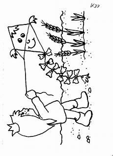 maedchen mit drachen ausmalbild malvorlage sonstiges