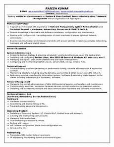 it redhat linux resume