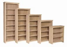 Unfinished Wooden Bookshelves