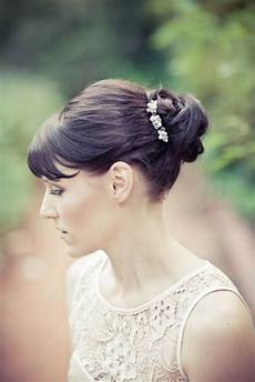 Wedding Updo Hairstyles With Bangs