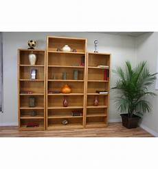 24 48 inch modern oak bookcases simply woods furniture pensacola fl
