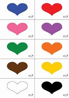 identifying colors worksheets 12760 practice identifying colors and reading with this hearts concentration from simple