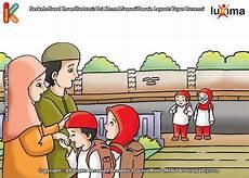Paling Bagus 13 Gambar Kartun Anak Salim Kepada Orang Tua