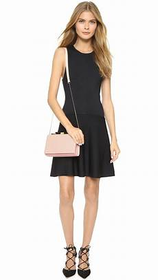 lyst see by chlo 233 nora small clutch in