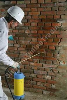 Remmers Kiesol Verkieselung Mauerabdichtung