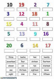 numbers 1 20 numbers worksheet pdf