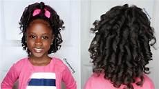 overnight heatless curls ft jackie s kids natural hairstyle video black hair