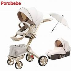 Parabebe Luxury Baby Stroller 15 Kg Big Baby Pram