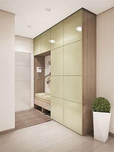 Entrée Appartement Design Meuble D Entr 233 Contemporain Armoire Lustr 233 Couleur Et