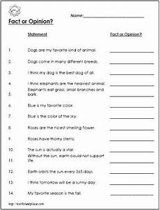 fact opinion worksheet i used it to create a form fact and opinion fact opinion