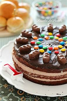 torta crema pasticcera e nutella torta di compleanno con crema al mascarpone e nutella