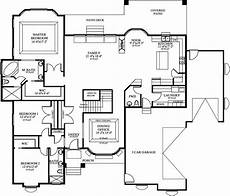 2600 sq ft house plans single story house plan with basement 2600 square feet