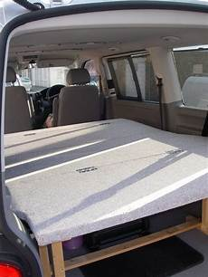 t5 cing ausbau bed in shuttle caravelle home made vw t4 forum vw