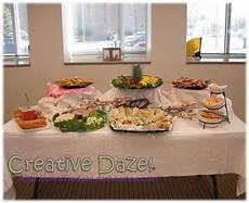 creative daze diy bridal shower the food