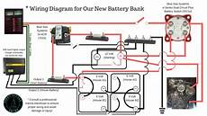 12 to 6 volt diagram blue sea systems battery switch 5511e acr 7610 6 volt battery bank diagram in series