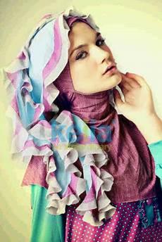 Tutorial Kreasi Jilbab Simple Untuk Kebaya