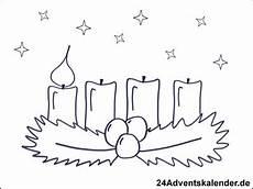 Malvorlagen Weihnachten Adventskranz Gratis Malvorlagen Advent