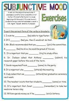 subjunctive mood sentences from busyteacher org mood classroom activities worksheets