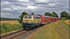 Linie 2 Flensburg - baureihe 218 im kieler woche einsatz 2017