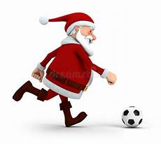 santa soccer stock illustration illustration of