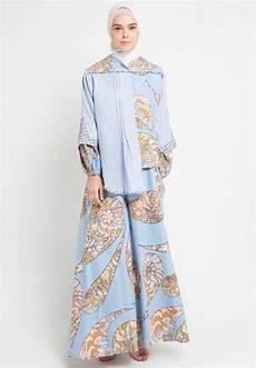 30 baju batik muslim modern kombinasi terbaru 2019