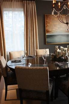 warm cozy dining room transitional dining room new york by erica peale design