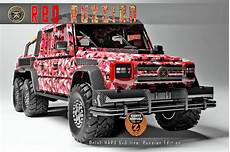 mercedes g 63 amg 6x6 dartz russian roter russe