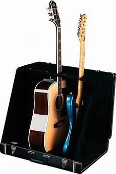 Fender Guitar Stand 3 Slot Stage Black Rainbow Guitars