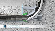 Kabel Durch Leerrohr - kaiser wall and ceiling transitions for empty conduit