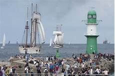 Seefahrt Erleben Auf Der Hanse Sail Rostock 2017