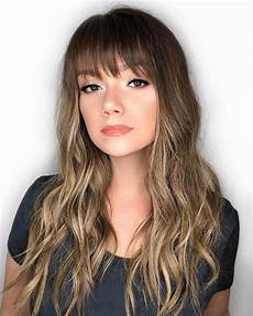 35 instagram popular ways to pull off long hair with bangs in 2020