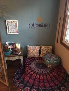 Meditation Corner Wellness Room Namaste Room