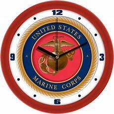 u s marine corps dimension wall clock