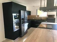 frigo americain noir mat cuisine en fenix et ch 234 ne vieilli 224 erbray 44110