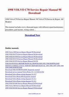 how to download repair manuals 2012 volvo c70 security system 1998 volvo c70 service repair manual 98 by lan huang issuu