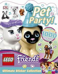Malvorlagen Lego Friends Ultimate Ultimate Sticker Collection Lego Friends Pet Dk Us