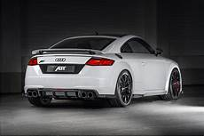 audi tt rs r steps closer to supercar territory with abt s