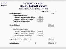 reconciliation report in quickbooks