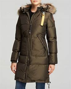 parajumpers long bear sale parajumpers coat in olive green lyst