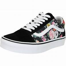 vans damen sneaker skool garden floral schwarz wei 223