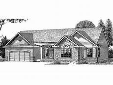 eplans house plans eplans new american house plan three bedroom new