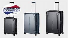 american tourister technum 4 rollen trolley koffer